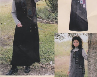 Misses' Jumper-Hill Country Jumper of Sleeveless Dress Sizes 6-24 by Mary's Patterns UNCUT Pattern Rare and OOP