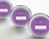 Lemon Lavender Lotion Bar One Handmade 1 Ounce In A Handy Tin