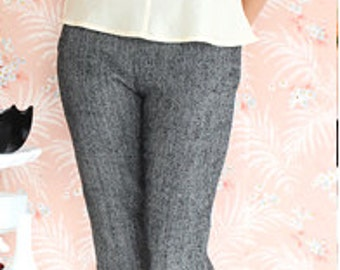 Clover slim pant pattern (CP1019) - Colette patterns