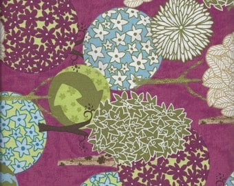 Sale! Peaceful Planet Magenta Forrest (E60-1336-MAG) - by the piece - 1 yard 16-inches