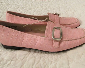 Vintage Pink Shoes Sz 8 New Old Stock Expressions SALE