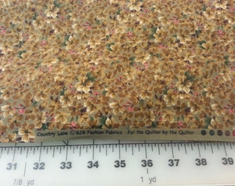 Cotton Country Lane RJR Fabrics Over 1yd