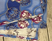 African wax print quilt, african quilt, african print, upcycled shawl, lap quilt