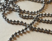 """Rust Free - Tarnish Free Stainless Steel 2.4mm Ball Chain - 34"""" necklace"""