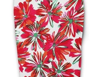 Multi Colors Floral Pencil Skirt, Floral Pencil Skirts, Pencil Skirt