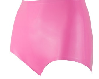SAMPLE S Latex Basic Retro Panties