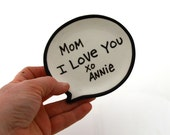 Mom I Love You, Mother's Day personalized Trinket Dis