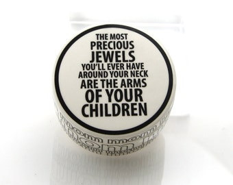 Baby shower gift, new mother, jewelry box,  gift for her, precious jewels are your children, mommy, mom, gifts under 20