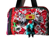 Bag molly creative bag unique, Bag flower, bag poppy, art deco bag,