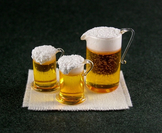 Classic Beer Set  (1:12th scale)