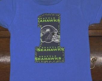 SEATTLE SEAHAWKS 1 shirt ... boys 1st birthday