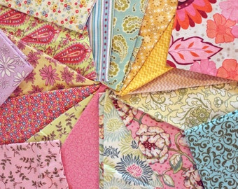 """Designer, Flannel, Grab Bag, 44, Flannel, 8"""" Quilt, Squares, Soft, Beautiful, Colors, Custom, Prewashed, Ready to Go"""