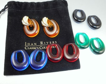 Joan Rivers Earrings Set