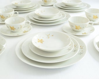 Parisienne by Royal Jackson China . 82 Piece Set . Set of Dishes . Dining Serving . Wedding . Entertaining