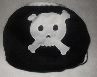 Skull butt  diaper cover