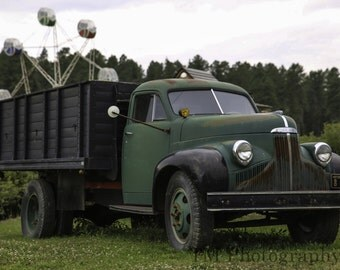 Studebaker - Studebaker Truck - Old Studebaker - Old Green Studebaker Truck - Green Studebaker Truck - Fine Art Photography