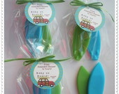 20 Surf Board Soap Party Shower Favors (Tags Included-40 Soaps)