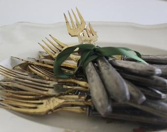 Art Nouveau Cutlery Sets, Fish Forks & Knives
