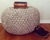 Stone POUF - knitting pattern - pdf