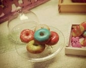 Dollhouse Miniature | EASTER DONUTS | 1:12 Scale | OOAK