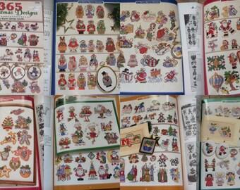 1998 cross stitch patterns 365 Christmas designs Kooler designs