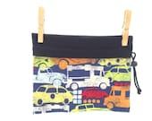 Transportation, Carpool, Reversible Project Bag, Medium