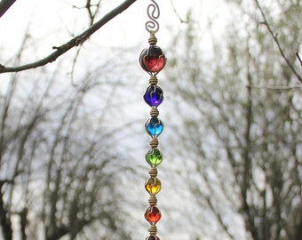 Chakras Suncatcher Meditation Tool Garden Decor