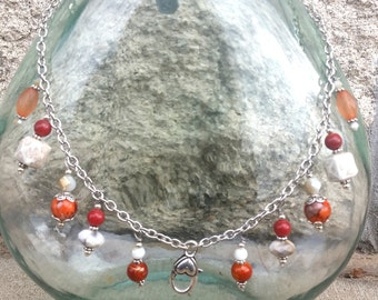 Treasure Keeper Necklace - Dreamsicle