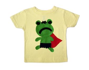 Team Super Animals - Hopper Froggy Toddler T-Shirt