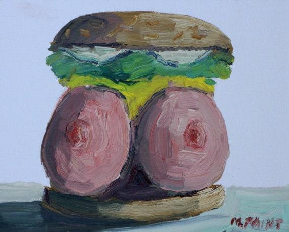 Boob Burger 85