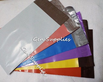 50 High Quality 6 x 9 Self Sealing  Poly Mailer Envelopes  - CHOOSE A COLOR