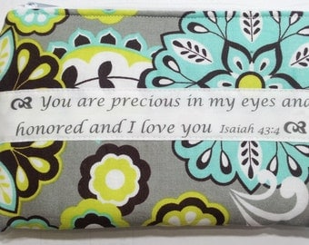Custom Pouch, Personalized zippered bag, Personalized pouch, Makeup pouch, makeup bag, Custom Gift