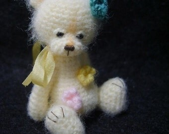 Miniature Thread ARTist Crochet Amigurumi Bear Pattern Pdf Instant Download Pattern