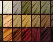 Luxurious Dupioni Silk Custom Pillow Covers Made from the Finest Pure Hand Made Dupioni Silk - Tan, Brown