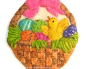 Six Easter Baby Chick Sugar Cookies Baked Goods