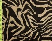 Zebra Print Stretch Lycra Fabric