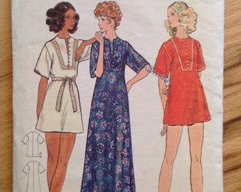Vintage Butterick 6659 Cover-up or dress
