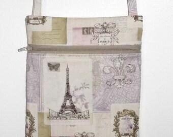 Paris - Crossbody Hipster Bag - France -  Eiffel Tower