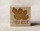 Rubber Stamp - You Rock