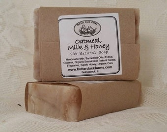 Oatmeal Milk & Honey Handmade Soap