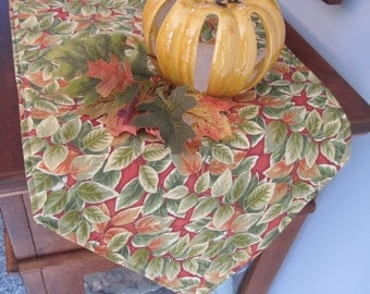 """SALE Fall Table Runner 72""""-90"""" Yellow Green Table Runner Autumn Table Runner Golden Yellow Daisy Table Runner Thanksgiving Table runner"""