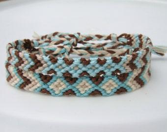 Sea Green Friendship Bracelet