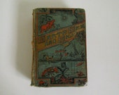 Antique 1800's Earth Sea and Sky Book for Salvage