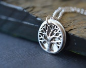 Family Tree Necklace - Personalized Women Jewelry - Gift for Women - Tree of Life Necklace -Secret message necklace - Mothers Grandma Mom