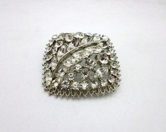 SALE Vintage Rhinestone Pin Brooch