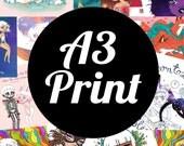 1 X A3 Print