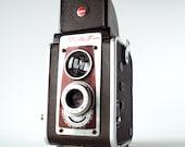 Kodak Duaflex Vintage Camera Antique Box Camera 620 Film Mid Century Modern Camera with Strap