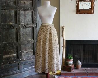 vintage floral feminine skirt