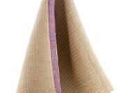 Cabin Series II - Cabin Road design Linen Hand Towels, Handwoven
