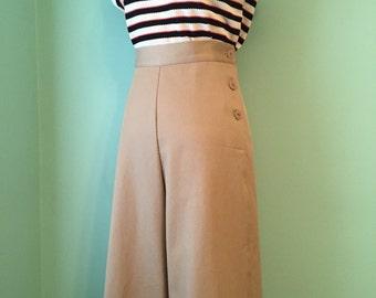 1930's 1940's vintage style  khaki pants CUSTOM  MADE  your size